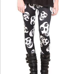 Misfits Skull Leggings